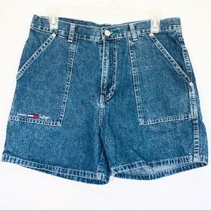 Vintage Tommy Hilfiger High Waist Denim Shorts